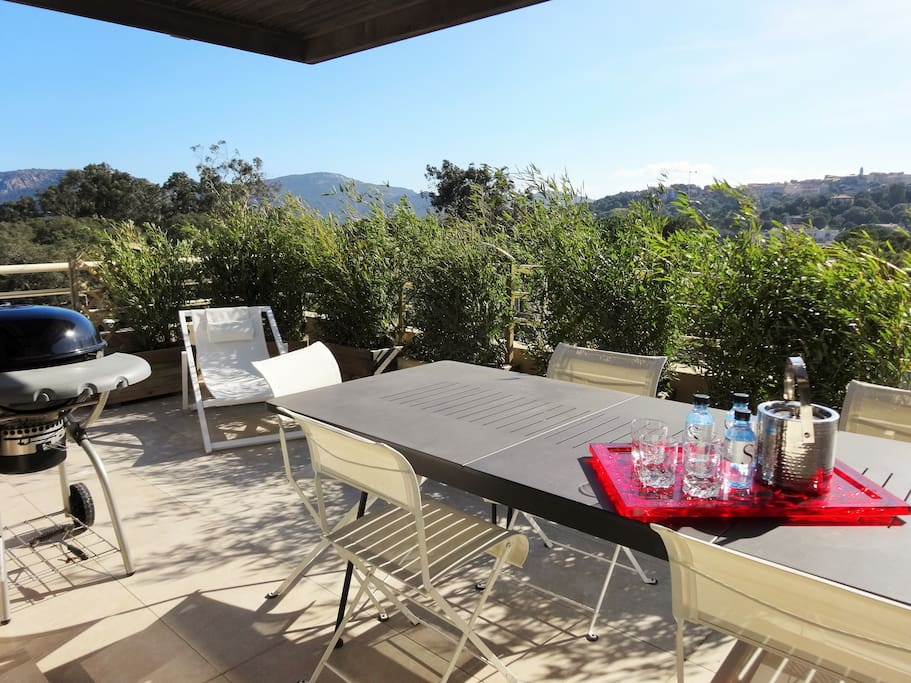 Holiday rental 4 persons apartments for rent in porto for Garage peugeot porto vecchio