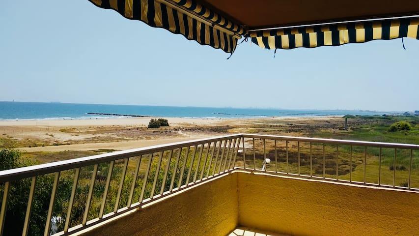 Acogedor en primera línea de playa