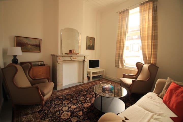 Bright cosy apartment - Schaarbeek - Lakás