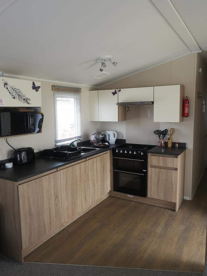 2 bedroom gold plus standard caravan for rent.