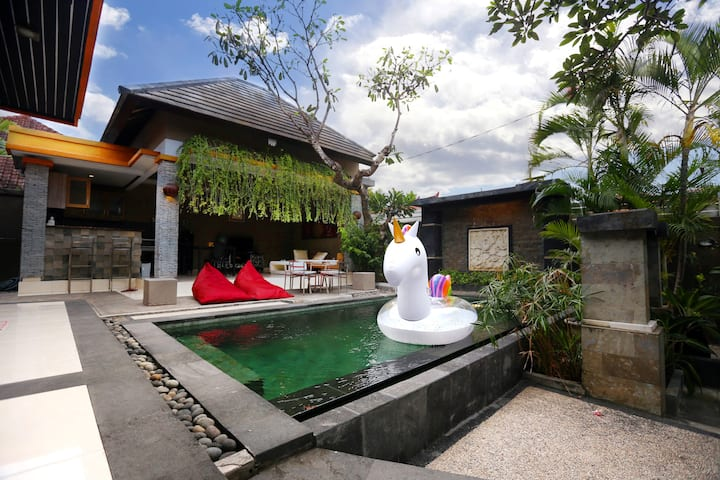 2BR PRIVATE VILA CHARMING & COZY WITH PRIVATE POOL