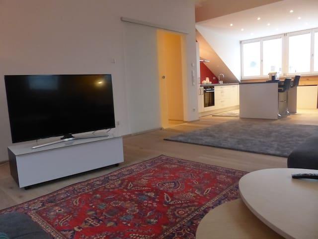 Luxuriöses Loft 93 qm im Herzen von Fürth