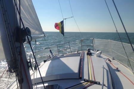 Zeilboot Zeebrugge - Brügge - Boot