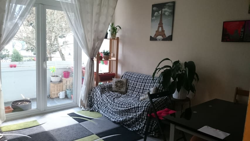 Appart Ile de Nantes avec parking - Nantes - Appartement