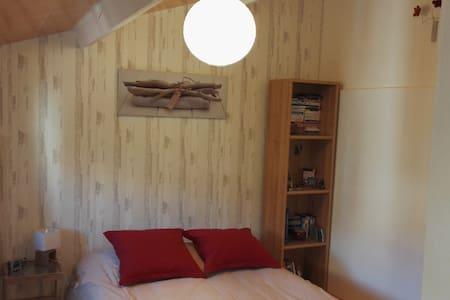 Chambre de 10m2 avec placard bureau - Escalquens - Σπίτι