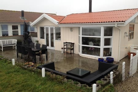 sommerhouse directly on the beach