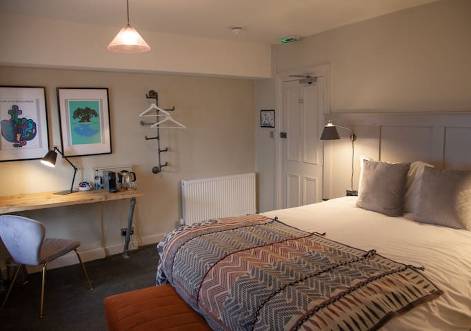 Large Character Double Room at the Kings Arms