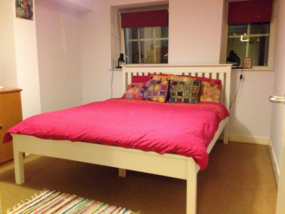 Brand new king  size bed in newly decorated bedroom