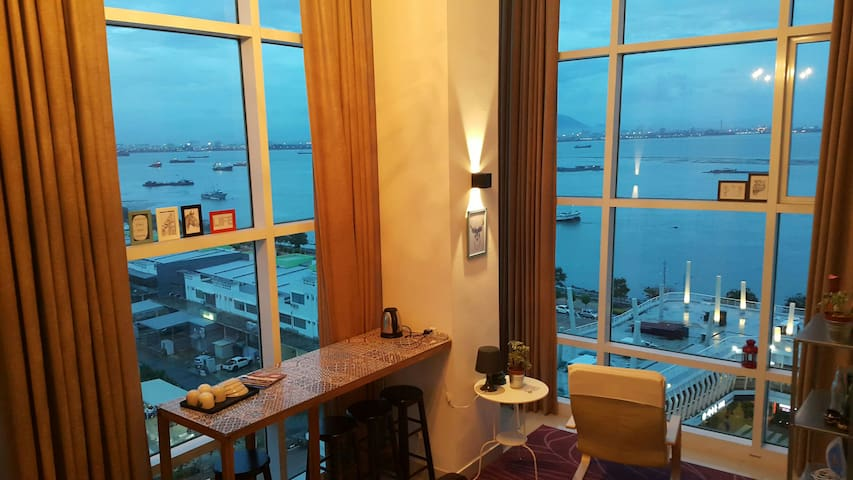 Fascinating Seaview Home @ Maritime - George Town, Pulau Pinang, MY - อพาร์ทเมนท์