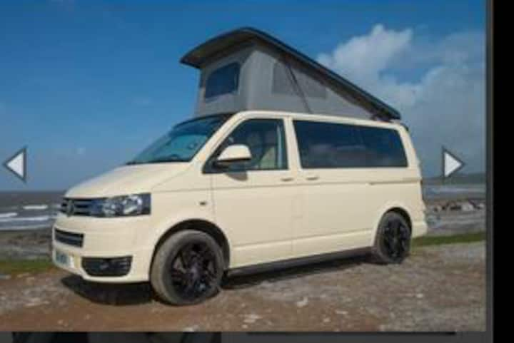 Luxury converted t6 vw transporter to travel uk