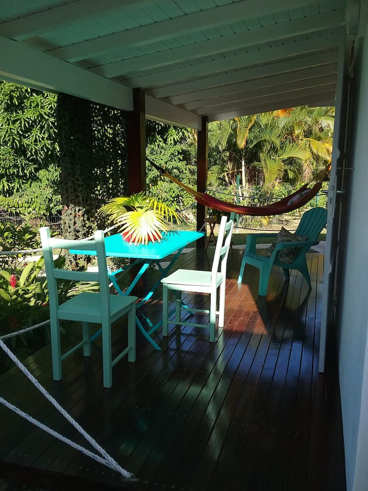 Gîte Cumaru dans Domaine Tropical Sainte-Anne