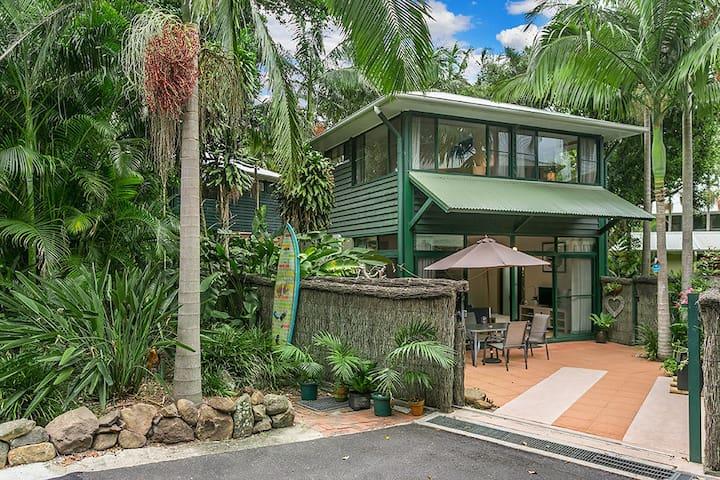Aamber Garden Villa - Stylish - Byron Bay - Apartamento