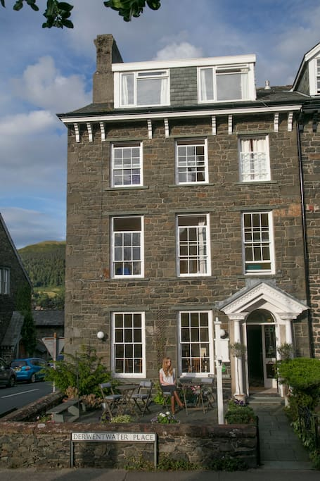 Cumbria House; a Georgian style Victorian house built in 1856 for the Crossthwaite family