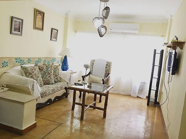 cairo maadi 2 br flat for rent - Cairo Governorate - Apartamento