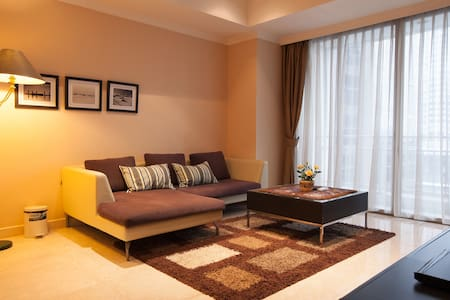 In the heart of SCBD, 2BR 93m2 - Kebayoran Baru