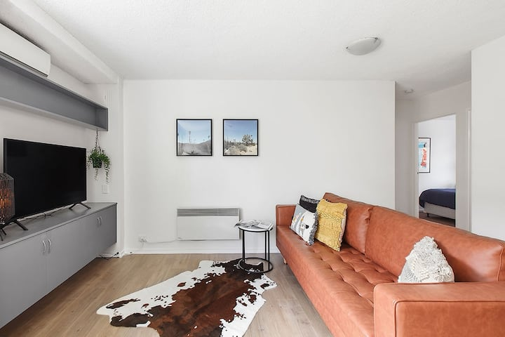 Bright, Stylist apartment in Richmond Terrace