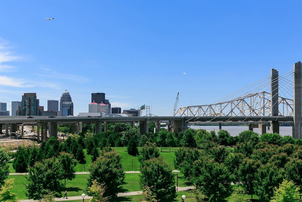 Several of the Louisville parks were designed by Frederick Law Olmsted, who also designed New York City's Central Park