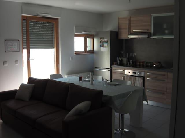 Appartement 4 personnes idéalement situé - ลียง - อพาร์ทเมนท์