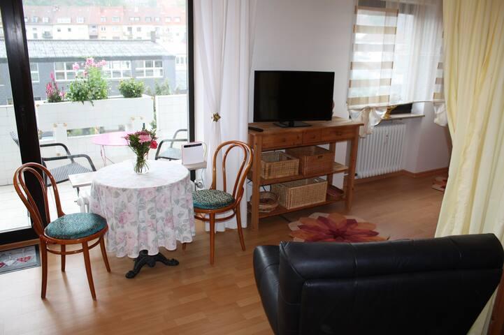 Apartment mit Süd-Balkon und Pkw Stellplatz