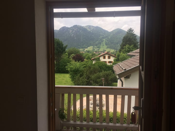 Ferienwohnung bei Achner mit schönen Bergblick