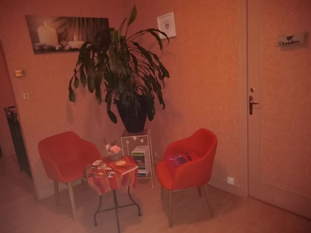 chambre privée avec étage privatif