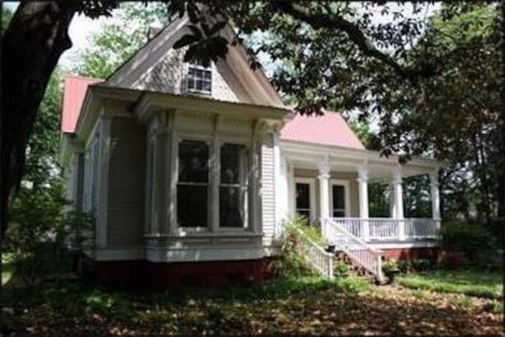 A historical home with a quaint southern charm