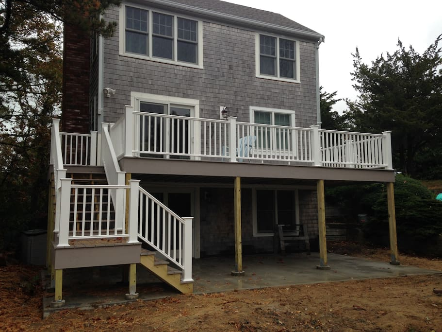 New Azek deck in 2015 with plenty of space to entertain
