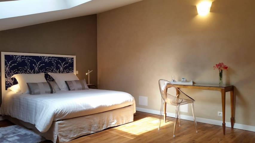 B&B Chambre naturelle et stylée - Poitiers centre - Poitiers - Bed & Breakfast