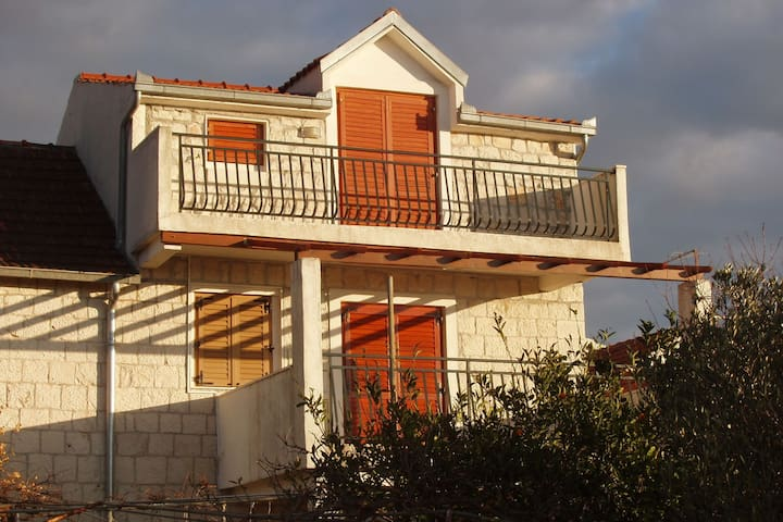 Cosy Apartment in Okrug Donji with Balcony