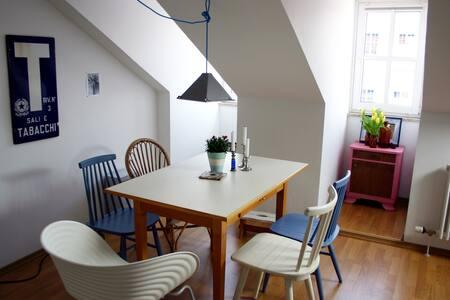 Schöne Dachgeschosswohnung im Herzen Priens