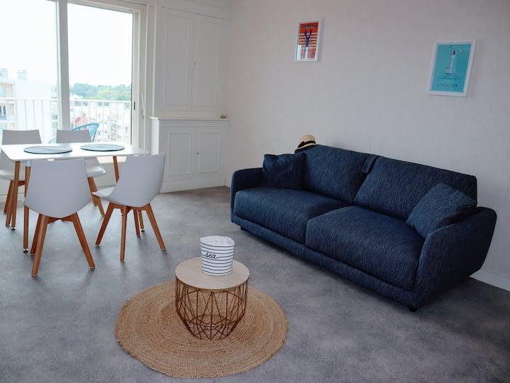 Lutin vue baie Appartement design et connecté