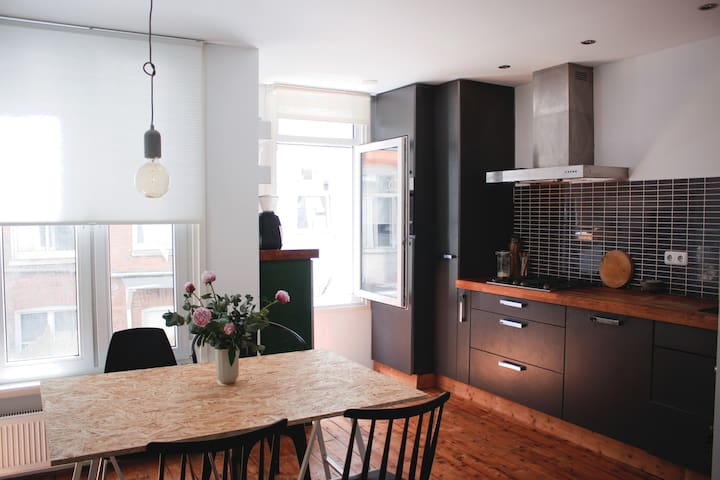 Cozy two story-appt. in Amsterdam East!