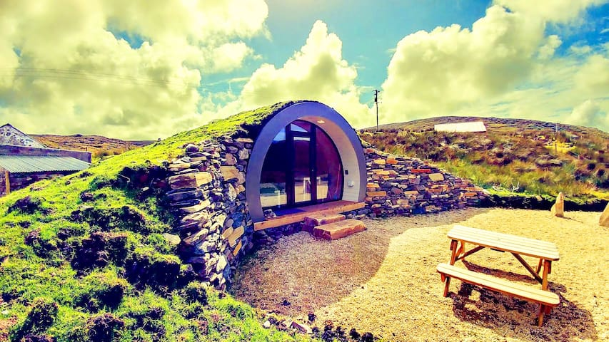 Times: 'Best Get Away in Ireland'  Hobbit HillPod