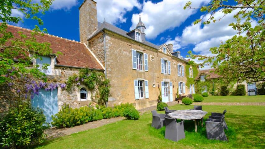 Demeure 18° de charme au coeur de la Normandie - Boucé - ที่พักพร้อมอาหารเช้า