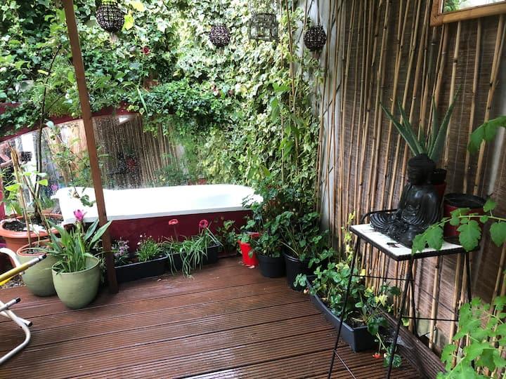 Herenhuis met tuin zuid Antwerpen