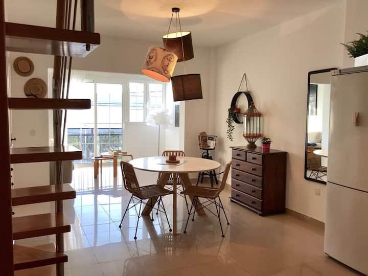 La Ballena del Charco Penthouse duplex + Terrace