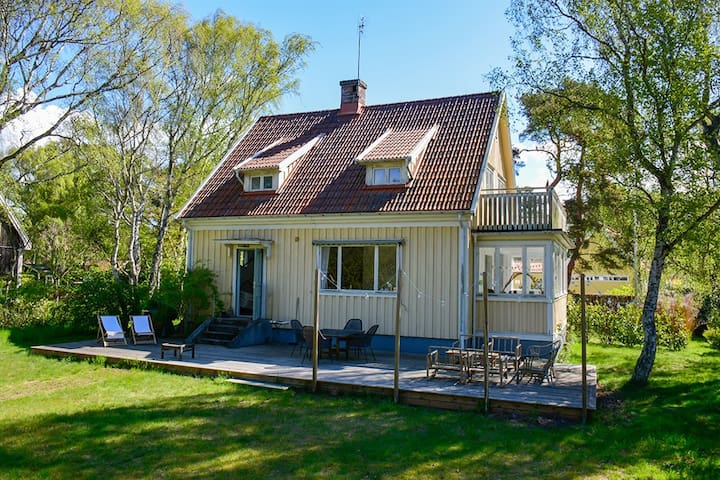Charming summer house 100 m from fantastic beach