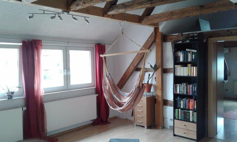 Gemütliche Studiowohnung Nähe Stuttgart - Althengstett - Appartement