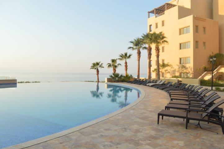 Beautiful Apartment on Dead Sea - Sweimeh - Daire