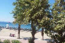 Kazdağları'nda deniz manzaralı lüks villa