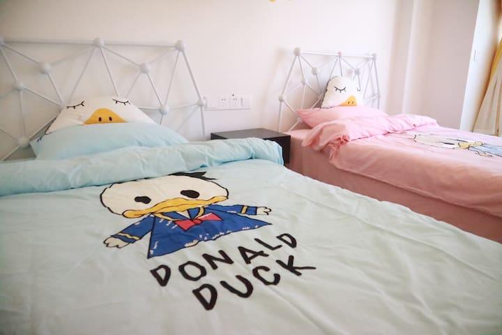 双床房、不管是闺蜜还是好友、都是一个最佳的选择