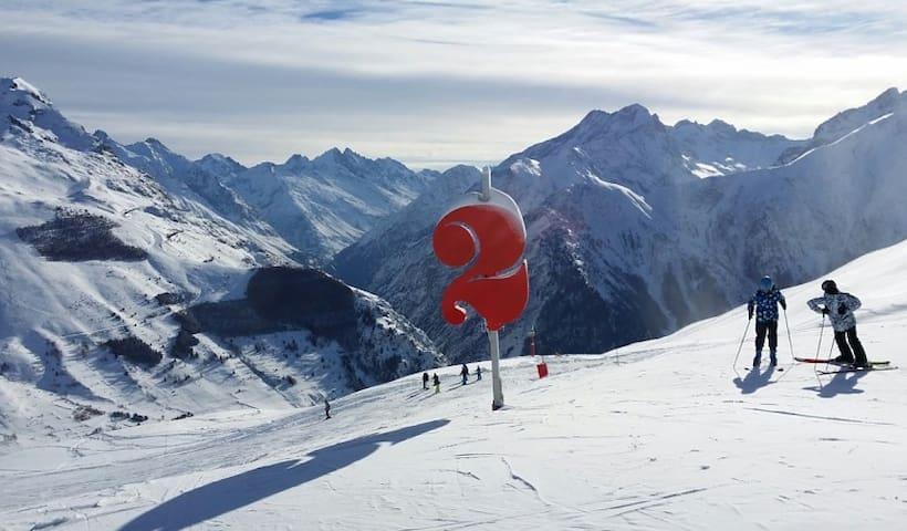 studette sympa aux Deux Alpes