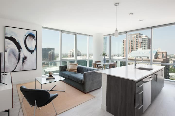 Sonder | Downtown 1BR at Grant Park