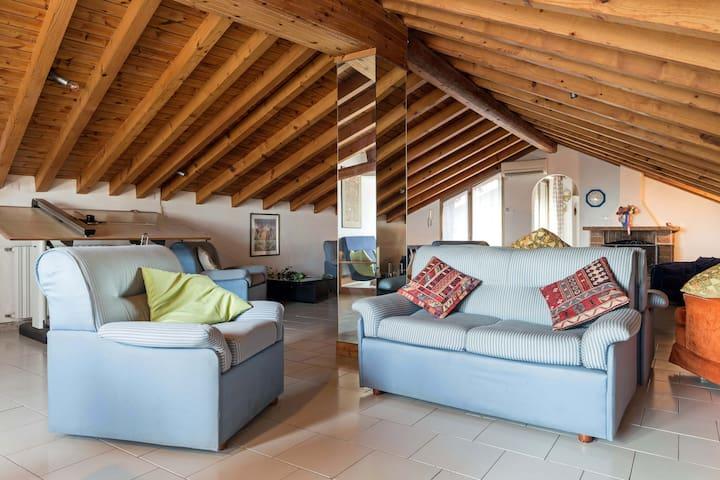 Attick in Villa with sea view - Aci Castello - Daire