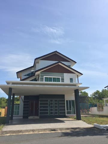 Perfect fully furnished bungalow - Jitra - Casa