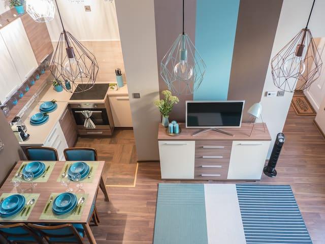 Kóczos apartman, stylish flat Budapest center, AC