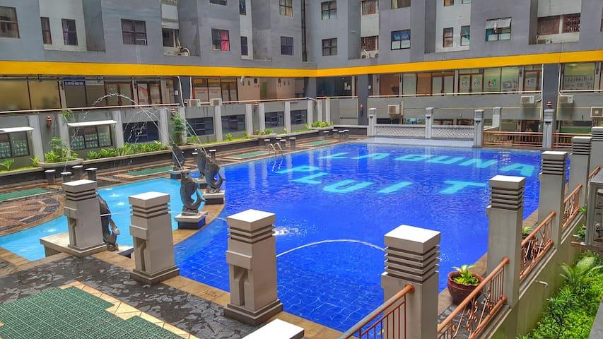 Apartment Laguna Pluit Lobby Utama Lantai 17