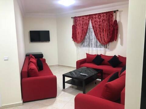 Appartement bien meublé