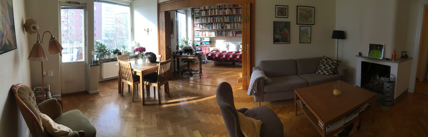 Cozy flat in Kungsholmen, the heart of Stockholm.