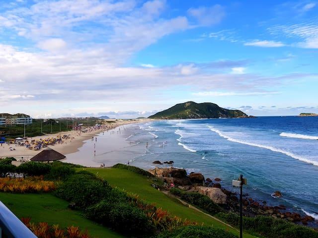 Flat sea front INSIDE Santinho Resort STO2206